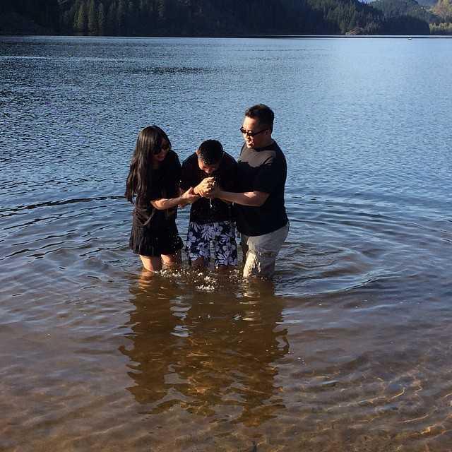Conrad Au Baptism Vancouver BRKC
