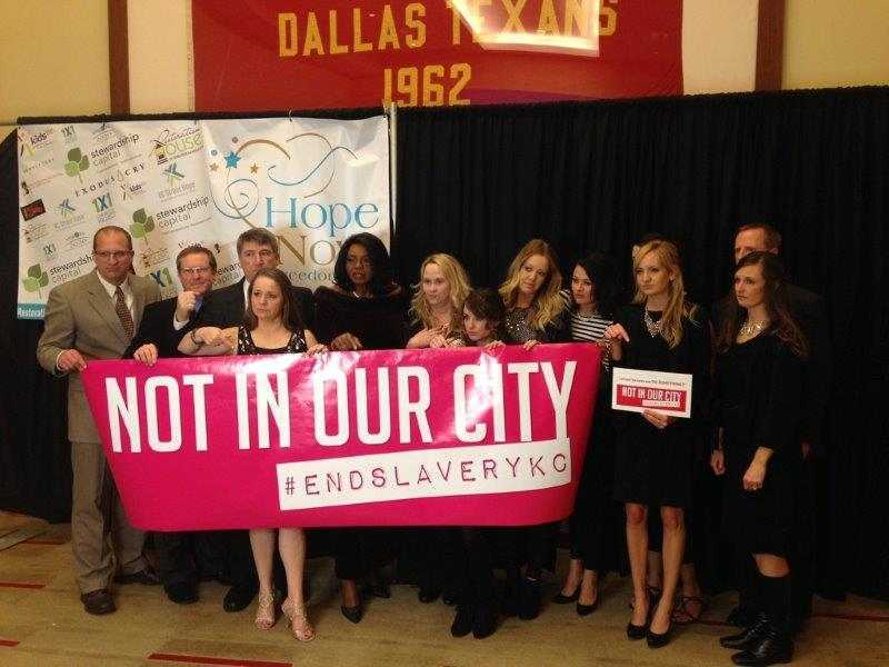 Not in Our City Restoration House KC Gala Group Pic