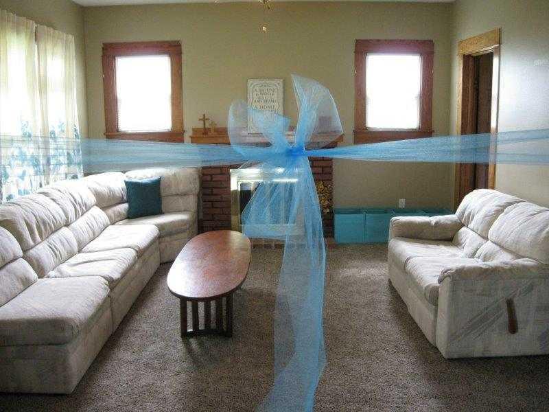 Restoration House Living Room Ribbon Cutting