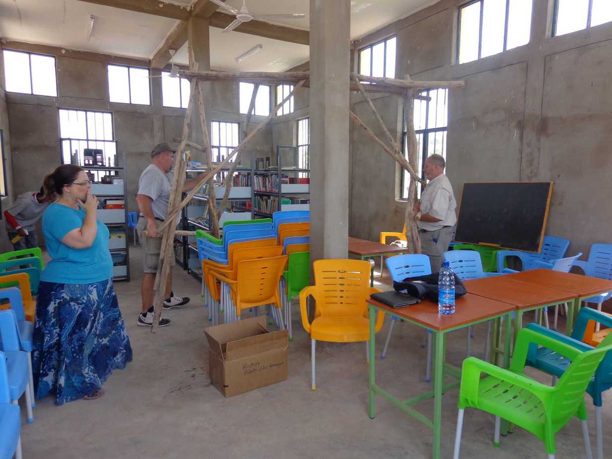 Mai Ayni Refugee Library Chairs