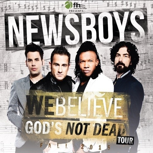 Newsboys God is Not Dead Official Poster