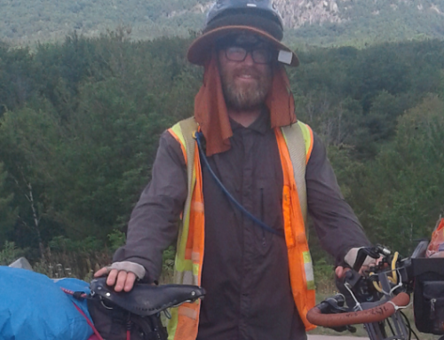 The Ride for Restoration House: Richie Wolfe Reaches Canada