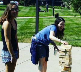 Carson Conover College Ministry Lawn Games
