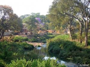 Malawi village Lilongwe