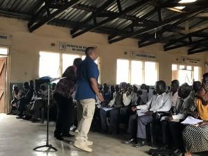 Malawi church service Ray Stewart