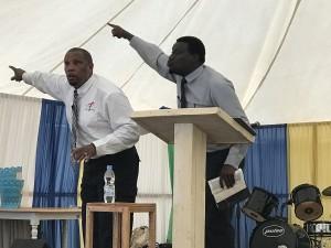 Ray Steward Bible teaching Malawi