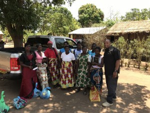 Ray Stewart and Widows Malawi