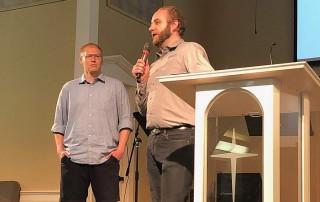 two collegiate pastors