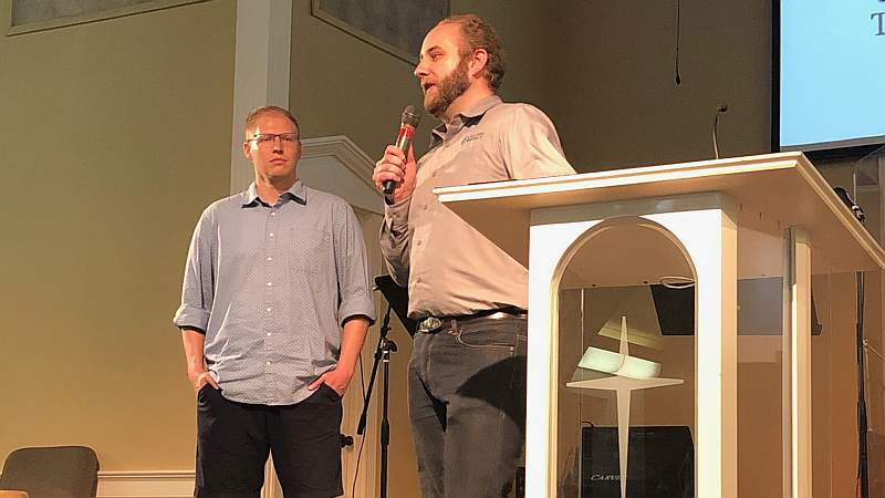 two collegiate pastors